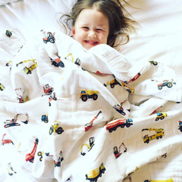 Аденное пеленание одеяла онлайн-Infant Wrapbaby Blanket Cotton Baby Muslin Swaddle Blanket Quality Better Than Aden Anais Baby Bath Towel Cotton