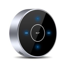 telefonlautsprecher pille Rabatt Drahtlose Bluetooth-Lautsprecher A6 PortableTouch Panel Stereolautsprecher Subwoofer AUX Audio TF-Karte MP3-Player mit Mikrofon für Smartphone-PC