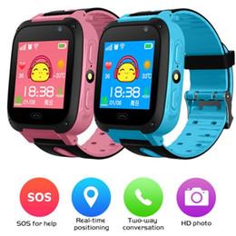 Intelligente orologio da polso intelligente per bambini Trakcer Intelligence Watch Smartwatch per IOS Android Q9 Monitor per la frequenza cardiaca della pressione arteriosa da allarme del braccialetto fornitori