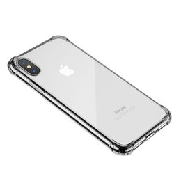 rose gold cell phone Promo Codes - Anti Knock Shock Proof TPU Case for iPhone 8 8 Plus iX XR XS Max Clear Cell Phone Cover