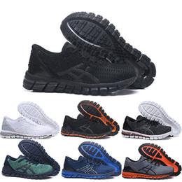 gel de zapatillas Rebajas asics gel Gel-Quantum 360 SHIFT Estabilidad Zapatillas T728N negro blanco atlético exterior Deportes Jogging entrenador velocidad zapatillas de deporte tamaño 41.5-45
