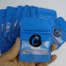 bolsas de papel de aluminio al por mayor Rebajas Galletas Bolsas California 3,5 g de Mylar prueba de niños de embalaje resellable cremallera Vape Cartucho envío Paquete
