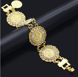 gold-diamant-tennis-armbänder Rabatt Mittlerer Osten Armband Damen New Fashion Gold Diamond Bracelet