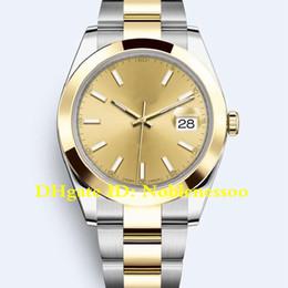 Canada 20 Coloris avec boîte 41mm Datejust 126303 pour homme, acier lunette lisse en or 126334 126333 116300 126301 Jubilee Asia 2813 montres automatiques cheap asia gold Offre