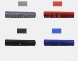 Altavoces de graves online-Nuevos altavoces inalámbricos Bluetooth para teléfonos inteligentes Ultra Bass Camping al aire libre Senderismo Portátil 20w Altavoz Boom Box Woofer Speaker