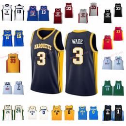 split sport trikots Rabatt Dwyane 3 Wade Russell 0 Westbrook Kobe 33 Bryant NCAA-Trikot Marquette UCLA Bruins College Lower Merion Basketball-Trikots der High School