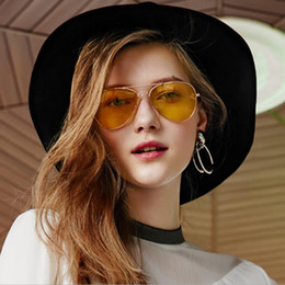 2020 occhiali da sole piloti 2018 Drivers Occhiali da sole pilota auto occhiali da uomo Night Vision Goggles anabbagliante Occhiali da sole donne di guida occhiali da sole piloti economici