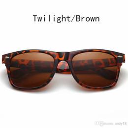 hommes lunettes de soleil aviateur miroir Promotion 2019 Marques à Hommes Femmes Lunettes de soleil Aviator 54mm Cat Eye Sun Bands Lunettes BEN Miroir Ou polarisants Wayfarer Gafas de sol avec des cas