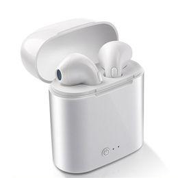 2019 melhores jogos de computadores I7 TWS Auricular sem fios Bluetooth Earphones I7 Esporte Earbuds fone de ouvido com microfone para entregas