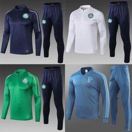 grüne sportkleidung Rabatt neue 2019 Palmeiras Fußballjacke Trainingsanzug Set 19/20 GREEN DUDO G.JESUS ALECSANDRO Palmeiras Fußballjacke Kit Sportkleidung Anzug