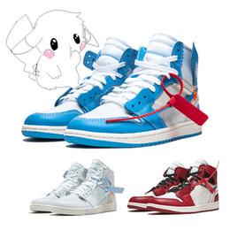 2019 scarpe da basket di jumpman 2019 Jumpman 1 Scarpe da basket Athletics Sneakers Scarpa da corsa per le donne Torcia elettrica gioco di lepre Royal Pine Green Court con scatola 36-47 Dimensioni sconti scarpe da basket di jumpman