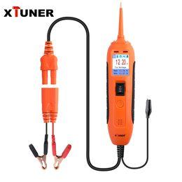 testador de sonda de potência Desconto XTUNER PT101 Poder Probe Circuit Tester 12V / 24V Car Tester Bateria DC / AC Electrical System Diagnostics Ferramenta de Tensão Corrente de teste