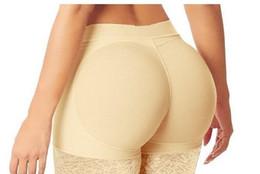 hanches bums culottes Promotion Femmes Abondant Fesses culottes sexy Culottes Fesse Backside Bum rembourré Butt Lifters Enhancer Hip Up boxers Sous-vêtements S-XL