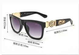 Lunettes de soleil pliantes en gros en Ligne-Vente en gros - lunettes de soleil de la mode 2019 plaza hommes nouveaux lunettes de soleil grand cadre en métal pliant cadre lentilles UV400