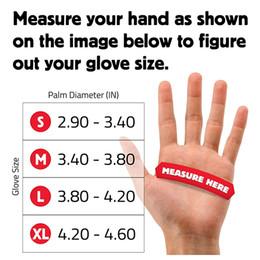 Luvas de prova de corte on-line-Luvas Anti-cut Luva de Segurança de Trabalho Man Cut Proof Cozinha Butcher Cut Faca de Calor Luvas de Mão de Fogo Resistente Durável Auto-Defesa