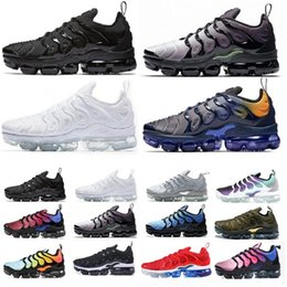 wholesale 2019 Trainers tn Plus Triple Men Air Cusion Desingers white presto Outdoor Running Shoes Regency Purple Zapatos Sneakers Size 13