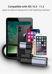 filtro elétrico Desconto Joyroom 2em1 adaptador de áudio dupla para fones de ouvido s-m362 conectores de conectores de cabo e carregamento adaptadores de telefone celular frete grátis
