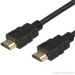 Plaque hd en Ligne-Cyberstore 1,5M 5Ft Câble HDMI haute vitesse Full HD 1080P V1.4 plaqué 1080P Pour TV switcher séparateur HDTV DVD 3D