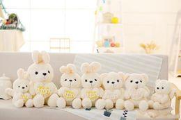 2020 muñecos de peluche de juguete ángeles ángeles de peluche animales de peluche de conejo de peluche juguetes de peluche abrazo bebé oso muñeca de juguete de regalo de San Valentín para los niños rebajas muñecos de peluche de juguete ángeles