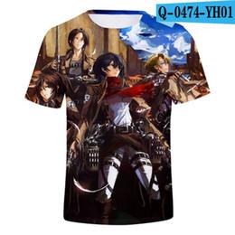 Deutschland Japanisches Anime-T-Shirt Scouting Legion Kleidung Shingeki Kein Kyojin T-Shirt Angriff auf Titan Riesen Kurzhülse T-shir Versorgung