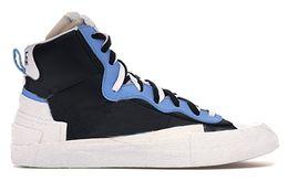 Canada Avec Box 2019 Hommes Chaussures de course Marque Designer Chaussures de sport pour hommes Sneakers Blazer High sacai Neige Plage Blanc Noir Légende Bleu supplier brands beach shoes Offre