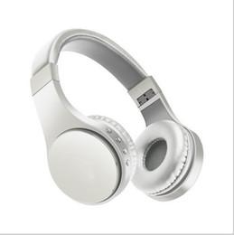 fones de ouvido retrácteis Desconto Fones de ouvido sem fio fone de ouvido bluetooth music player retrátil headband surround fone de ouvido estéreo com microfone para pc smartphone mp3 em caixa