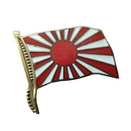 Distintivo militare del distintivo della bandiera del Giappone WW2 da pin japan fornitori