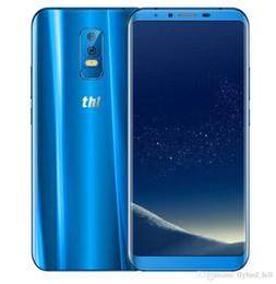 zugang zu mobiltelefonen Rabatt THL Knight 2 Smartphone Gesicht Access 6.0 '' 18: 9 3D kurierte Android 7.0 MTK6750 Octa Core 4GB 64GB 4200mAh Wireless Charging Phone