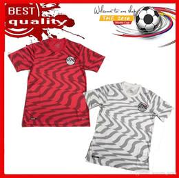 Equipos deportivos camisetas de fútbol online-NUEVO 2019 2020 Egypt Soccer Jersey 19 20 M.SALAH en casa fuera equipo nacional fútbol Camisetas deportivas Jerseys S-2XL