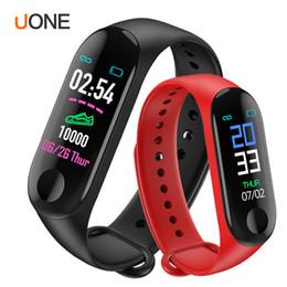 Xiaomi mi watch en Ligne-Bracelet M3 Smart Band Cardiofréquencemètre Activité Fitness Tracker Aperçu des mouvements intéligents PK fitbit xiaomi mi 3 montre apple