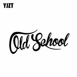 2019 decalques engraçados do caminhão adesivos Classic Car YJZT 15,2 cm * 6,1 cm Old School Vinyl Decal Truck Funny Sticker Black / Silver C10-01079 desconto decalques engraçados do caminhão adesivos