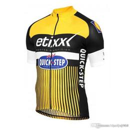 equipo de ciclismo de paso rápido etixx. Rebajas 2018 quick step team Cycling Jersey Ropa de ciclismo Ropa de bicicleta de montaña transpirable Verano ETIXX Ropa deportiva de bicicleta de secado rápido C0908