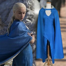 c79f5c5b566e Womens Party Dresses Cosplay Coak 2 Piece Short Sets Holiday Clothing  Special Designer Ice and Fire