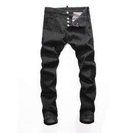 2020 jeans de diseñador para hombre sueltos 2020 mens pantalones vaqueros de diseño de lujo para hombre de moda los pantalones vaqueros de diseño para hombre pantalones casuales para hombre pantalones flojos de los pantalones vaqueros flacos de los hombres de diseño rebajas jeans de diseñador para hombre sueltos
