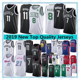 Rosa basquete on-line-Kevin Durant 7 NCAA Kyrie 11 Mens Irving Jerseys Kemba Walker 8 Basketball Jimmy 21 Butler Derrick Rose 25 1 Russell Top Quality Jerseys