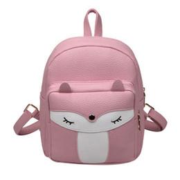 626d33cc8e0a China Cute Mini Leather Fox Fashion Backpack Small Daypacks Purse for Girls mini  backpack purses for