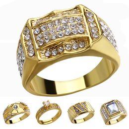 anéis de moda âmbar Desconto 18k anel de diamante de ouro anéis de cristal anéis de ouro mulheres homens designer anéis jóias moda will will and sandy navio da gota 080425