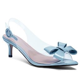 2019 Date candy sandales à talons stiletto talon fille soirée soirée robe chaussures femmes chaussures en cuir véritable club danse pompes ? partir de fabricateur