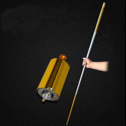 2019 kampfkunst lieferungen Hot Pocket Staff Magic Stick Tragbare Kampfkunst Metallstab Offene Länge 150 cm 110 cm Kinder Party Geschenk ZC0832 günstig kampfkunst lieferungen