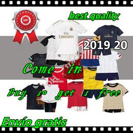 Футбольные майки valencia онлайн-2019 20 Camiseta de Madrid Real Футбол Джерси Валенсия cf футболка человек Юнайтед Майо де Фут 19 20 детский комплект футбольные комплекты