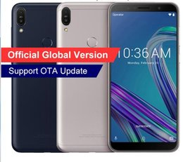 2019 m1 teléfono móvil Versión global, 2018 ASUS ZenFone Max Pro M1 ZB602KL X00TD, Snapdragon 636, teléfono móvil, 6GB 64GB, 6 pulgadas, teléfono inteligente 4G LTE m1 teléfono móvil baratos