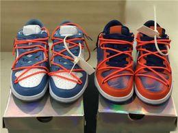 2019 Nuove uscite BIANCO x Futura x SB Dunk Low UNC Scarpe da skate casual blu chiaro per donna Uomo Sneakers sportive da
