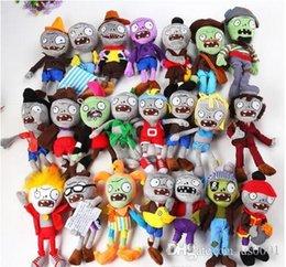 Çocuklar iyi Hediyeler için 10 stil 30CM 12 '' Bitkiler Vs Zombies Yumuşak Peluş Oyuncak Bebek Oyun Şekil Heykeli Bebek Oyuncak nereden