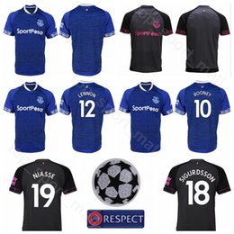 2018 2019 FC 10 Gylfi Sigurdsson Jersey Men Soccer 11 Theo Walcott 12 Lucas  Digne Football Shirt Kits Uniform Custom Name Number b79fa19cb