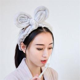 neue mode gesicht haar Rabatt Neue Mode Frauen Nette Große Ohren Komfortable Wash Face Bathe Haar Halter Elastische Stirnband Mädchen Haarbänder Haarschmuck