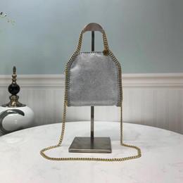 Bolsas stella on-line-Designer- Stella McCartney bolsas mini 19.5CM alta qualidade moda casual bag ombro quente saco diagonal das mulheres favoritas