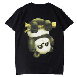 panda camiseta de los hombres Rebajas Diseñador de lujo para hombre T Shirt Hombres Mujeres Diseñador de Alta Calidad Divertido Panda de Impresión de Manga Corta Para Hombre de Alta Calidad Hip Hop Tees