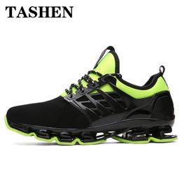кроссовки Скидка 2019 мода унисекс кроссовки для мужчин Женщины амортизация Springblade спортивная обувь для девочек мальчиков профессиональная подготовка