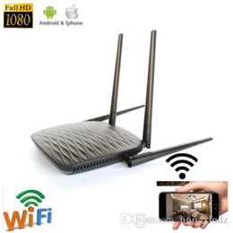 Visão remota on-line-HD 4K wi-fi câmera sem fio em casa router câmera gravador de vídeo em rede com visão noturna do telefone móvel monitor remoto