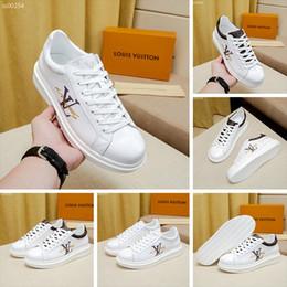 2019 vans scarpe tutto bianco  Di alta qualità prodotti Louis Vuitton per gli uomini la vendita di lusso casuali scarpe sportive moda di sport esterni di viaggio pizzo scatola originale formato 39-44